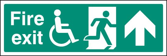 Disabled Escape Signs