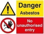 Asbestos Safety Signs