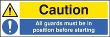 Machinery Safety Signs
