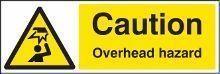 Overhead Warning Signs