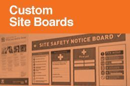 Custom Site Boards