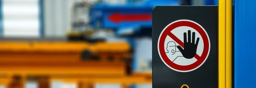 Where to put workplace safety signs