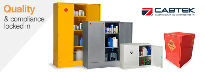 Cabtek Hazardous Storage Cabinets