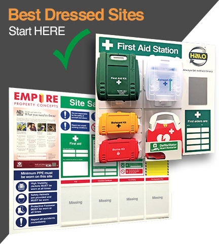 Custom Branded Site Boards