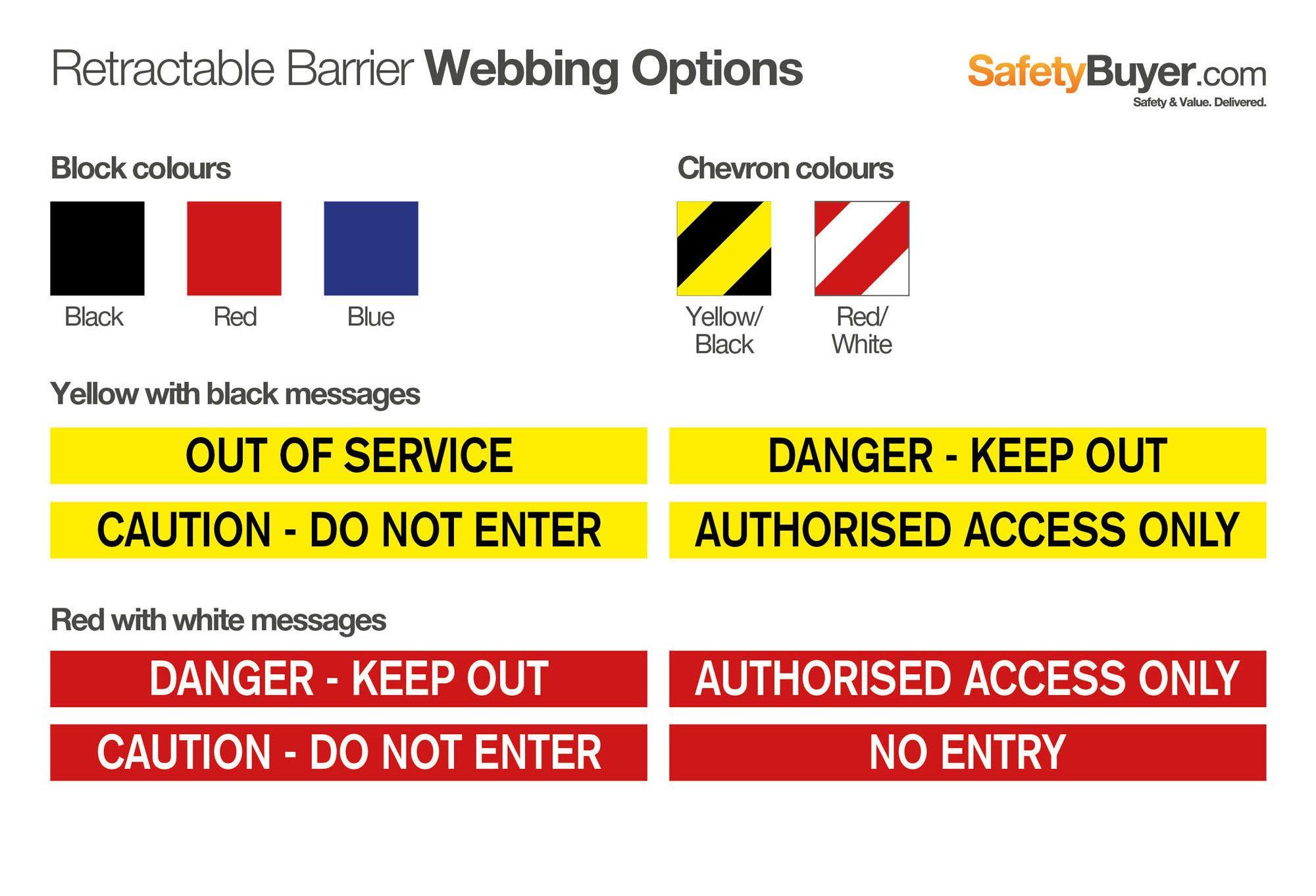 Twin Barrier Webbing Options